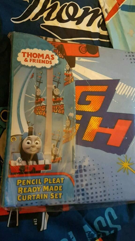 Unopened Thomas curtains
