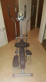 2 in 1 Cross trainer and Excersise bike.