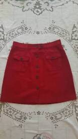 Red skirt NEXT size 12