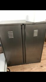 Large Metal Office Cabinet