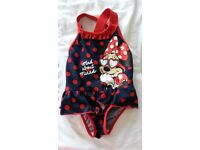 """24-36 months Mothercare """"Minnie Mouse"""" swimming costume"""