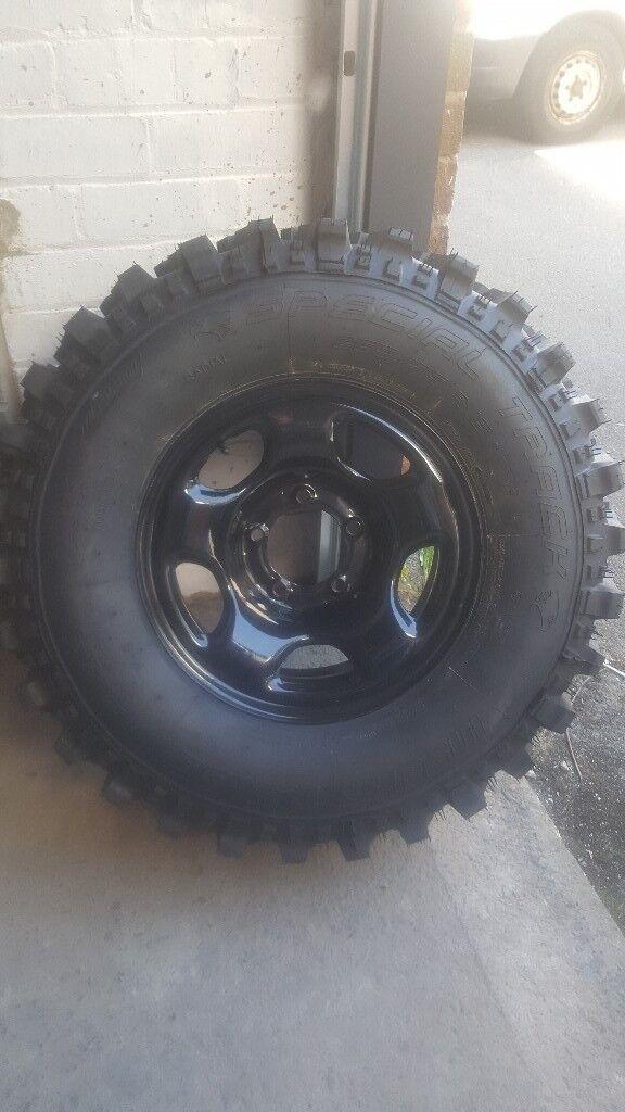 4x4 off road tyres x2