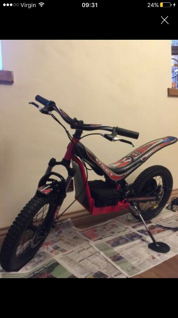 Oset spider 16.0 electric bike