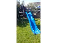 Childs Climbing frame & Wave slide