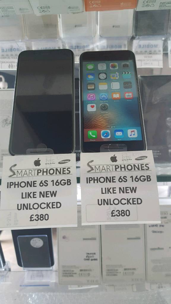 APPLE IPHONE 6S 16GB UNLOCKED GRADE Ain Coventry, West MidlandsGumtree - APPLE IPHONE 6S 16GB UNLOCKED GRADE A. COMES WITH RECEIPT AND WARRANTY