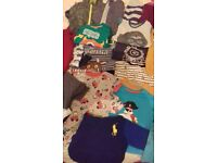 BUNDLE Of BOYS TOPS AGE 18-36 MONTHS