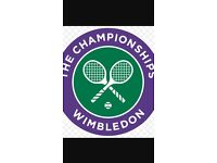 2 Tickets Wimbledon Mens Final