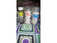 Whole alloy spray paint set