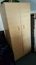 Wardbrobe and chest cupboard