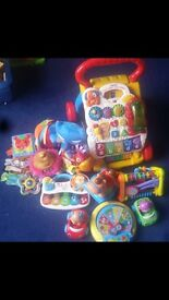 Baby walker bundle, vtech