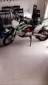 Demon X 125 pitbike