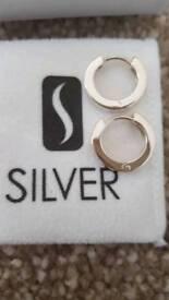 New Silver earings