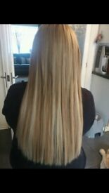 HAIR EXTENSIONS £200/250 Facebook search @hair in motion by Jackie Clarke