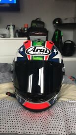Arai rx7v small nicky hayden replica £500