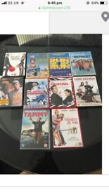 10 DVD bundle