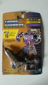 'Blast off' vintage transformer
