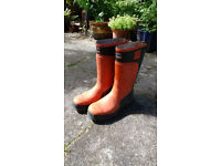 Forester 3000 industrial chainsaw wellington boots