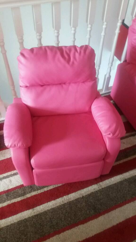 Miraculous Kids Pink Reclining Chairs In Craigavon County Armagh Gumtree Andrewgaddart Wooden Chair Designs For Living Room Andrewgaddartcom