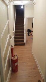 5 bed / 5 ensuite property to rent - Room shares, recently refurbished - Furnished