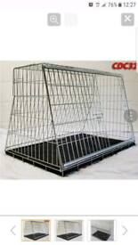 "Pet World UK - 32"" car dog cage"