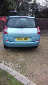 Renault grand scenic 1500 7 seater