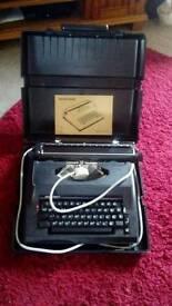 Silver reed typewriter1980s