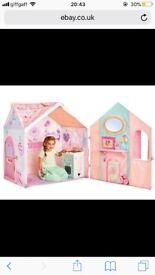 Tent kitchen playhouse