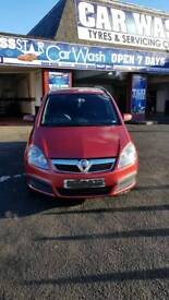 For sale Vauxhall Zafira