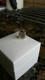 Pandora silver bag charm