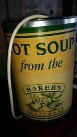 Dry soup terrine