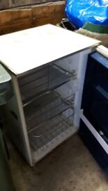 Freezer small upright freezer tatty to looked but good working order