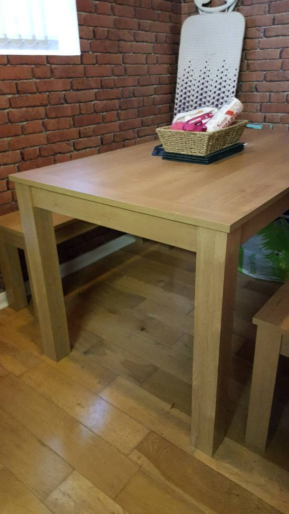Next Dining Table Benches