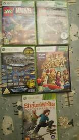 Xbox 360 £4 each kids lego games, mega drive and Kinect