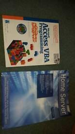 Home server access vba programming computer books