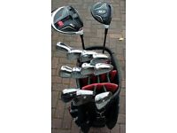 Immaculate set of right hand TaylorMade men's golf Cubs.