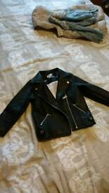 18-24months girls leather jacket