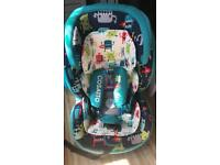 Cosatto Hug car seat, rrp £300