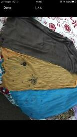 Bundle of 3 scarves new