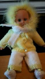 Doll and outfit (lemon)