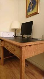 Solid Oak heavy desk