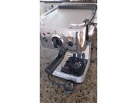 Award winning Dualit Esspressivo coffee machine