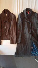 2 smart womens coat/jackets
