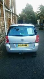 Vauxhall Zafira Exclusive 1.8i