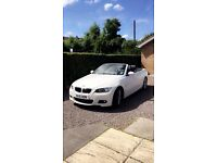 BMW 320i M SPORT COVERTIBLE 39,000 MILES ONLY £11,000 O.N.O