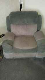 3 seater couch and single seat for sale