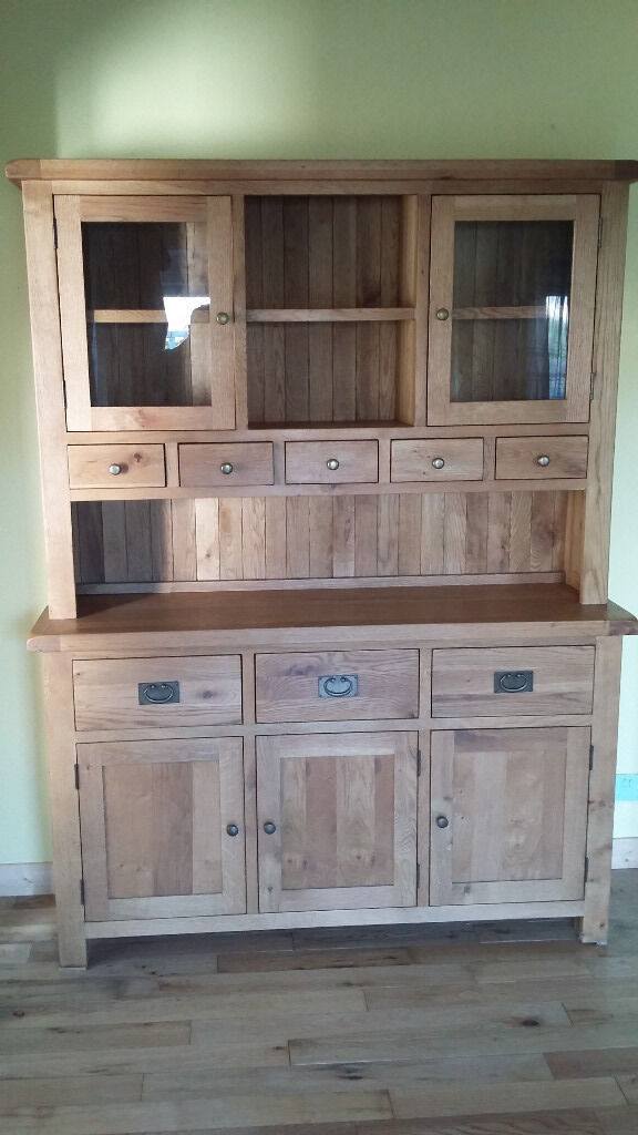 Dresser. By Mulberry. H200cm W152cm D45cmin Bournemouth, DorsetGumtree - Dresser. By Mulberry. H200cm W152cm D45cm. Solid Wood. As new condition. Style does not suit new house so priced to sell. Less than half retail price