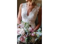 Suzanne Neville, Scarlet Wedding dress