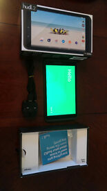 Tablet - Hudl 2 Slate Black with Bluetooth Keyboard Case & Stand, also a Leather Case and Stand