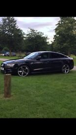 AUDI A5 3.0 TDI SE S STRONIC 245ps QUATTRO SPORTBACK FULL BLACK EDITION MEGA SPEC PLZ READ!!!!!