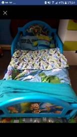 Toy story cot bed